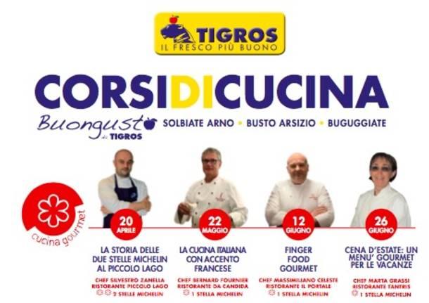 Corsi Tigros primavera 2017