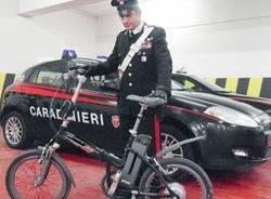 furto bici guardiaparco carabinieri lonate pozzolo
