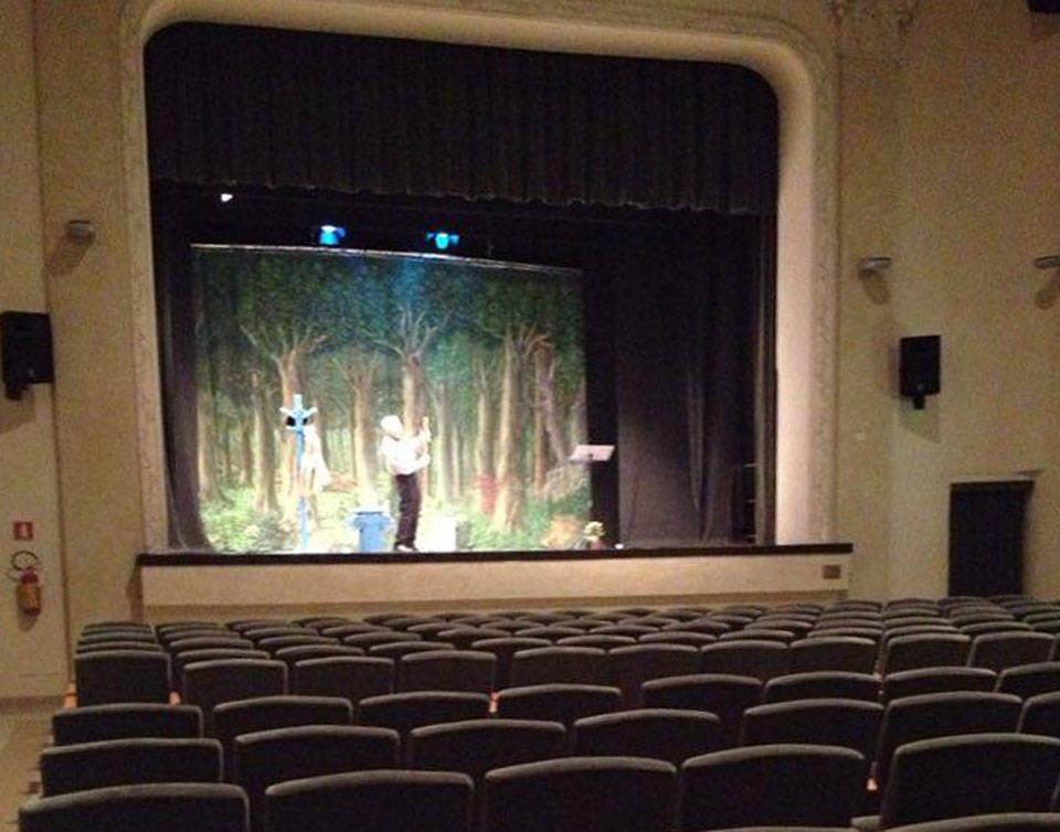 Giovanni Mongiano al Teatro del popolo