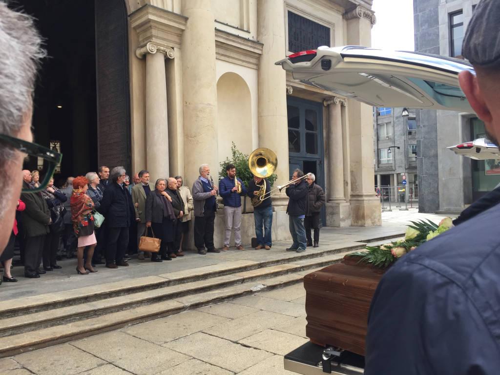 I Funerali di Giorgio Alberti e Alessandra Zecchi