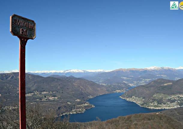 Il Ceresio dal Monte Pravello - foto di Antea Franceschin