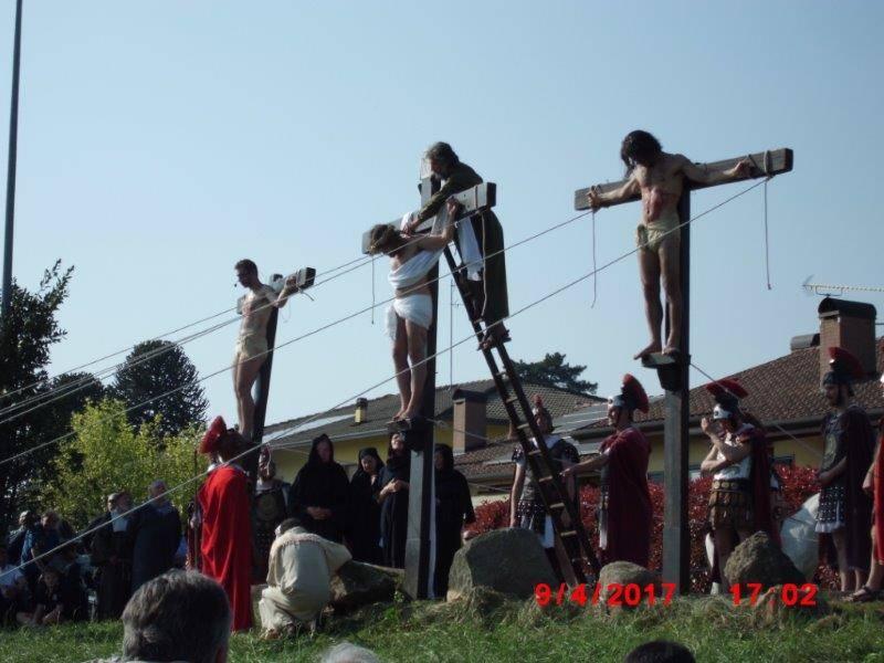 """In tantissimi per il """"live"""" della Passione di Cristo"""