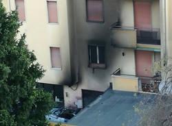 incendio condominio venegono inferiore