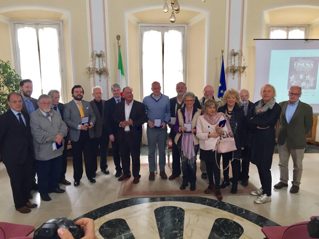 Le medaglie per i 200 anni di Varese Città