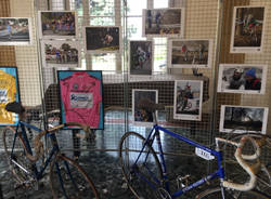 Pantani e Coppi alla Mostra Varese van Vlaanderen