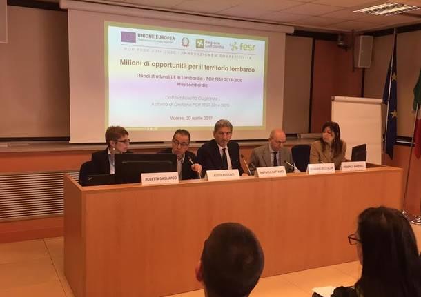 Raffaele Cattaneo incontra gli amministratori locali