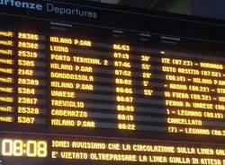ritardo dei treni per maltempo 28 aprile 2017