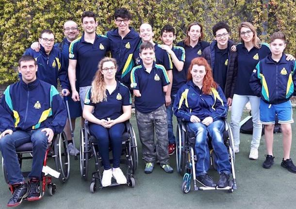 squadra polha varese nuoto disabili 2017