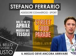stefano ferrario polemica street food parade