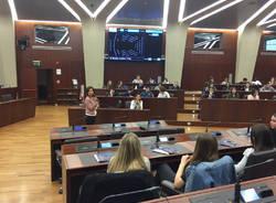 Studenti del tosi in visita al consiglio regionale