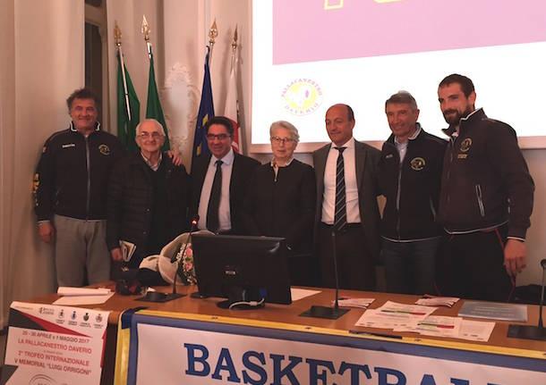 torneo basket giovanile memorial orrigoni daverio