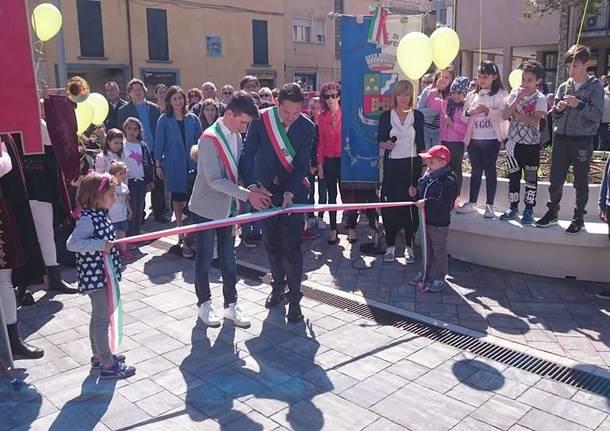 Venegono Inferiore - Inaugurazione nuova piazza delle Associazioni