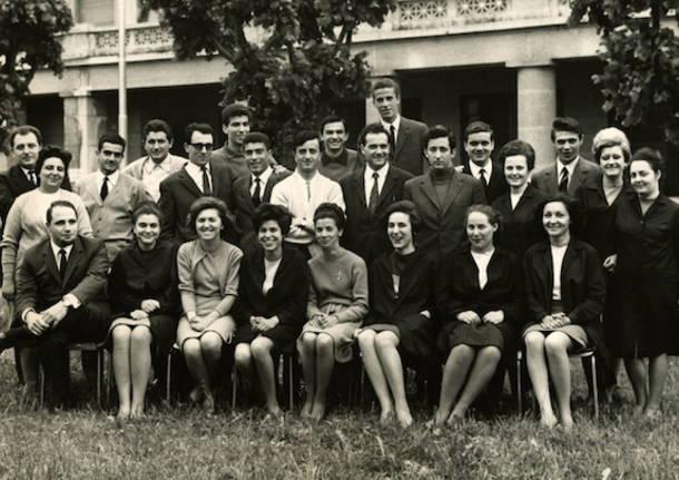 Anniversario quinta f Daverio 50 anni dal diploma