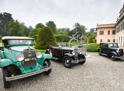 Auto storiche ai giardini estensi