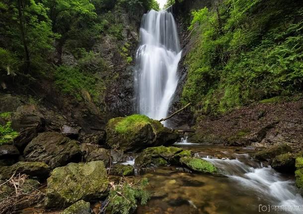 Brinzio, la cascata del Pesegh - foto di Mirko Costantini