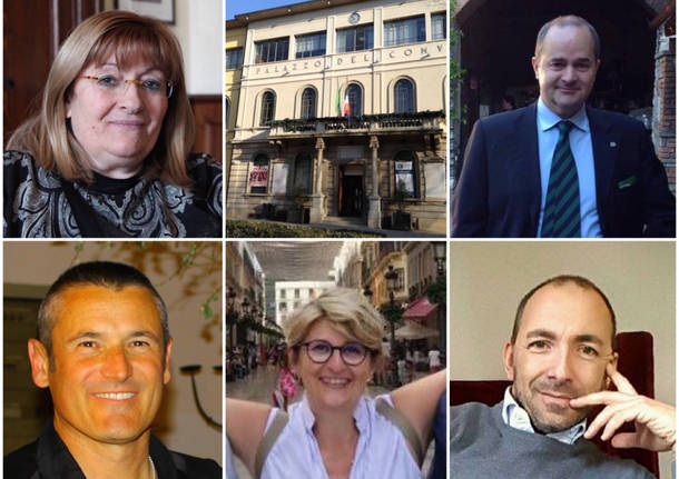 Candidati sindaco Tradate