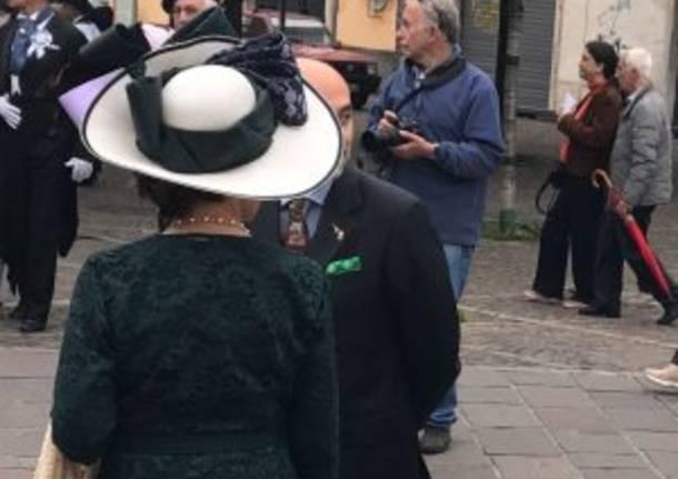 Pochette verde al corteo storico: Sala difende il presidente Fagioli