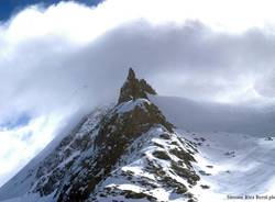 In cima alla montagna per sostenere la ricerca