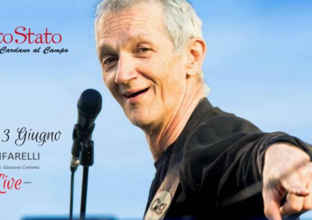 Gigi Cifarelli in concerto al Circolo Quarto Stato.            Il grande chitarrista jazz terrà un concerto al circolo cardanese sabato 3 giugno.