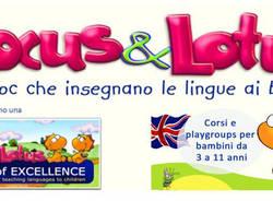 Presentazione Corsi d'inglese per bambini | Hocus & Lotus