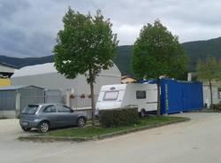 Da Varese un container per aiutare un\'azienda di Norcia