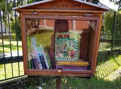 Inaugurazione della Little Free Library di Biandronno