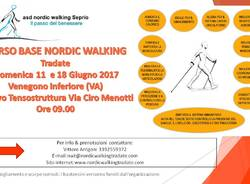 CORSO BASE NORDIC WALKING