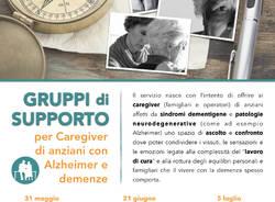 Gruppi di supporto per Caregiver di anziani con Alzheimer e demenze