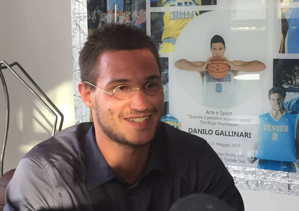 Danilo Gallinari a Tradate