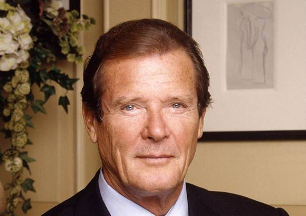 E' morto Roger Moore, mitico James Bond