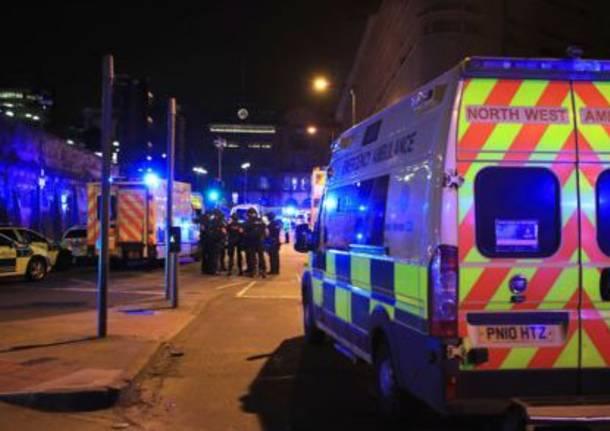 Esplosione a Manchester