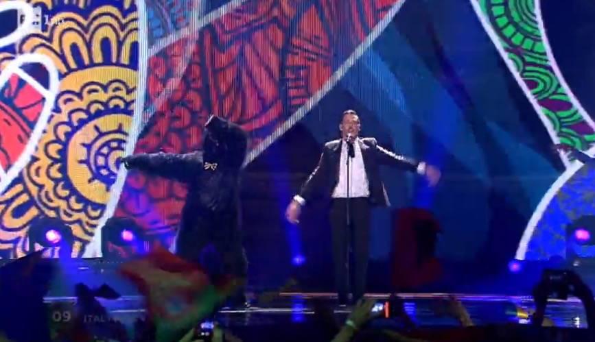 Francesco Gabbani all'Eurovestival 2017
