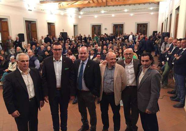 Galli e la sua coalizione si presentano a Tradate