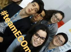 Gli alunni del Don Milani al summit sul cibo
