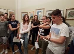 Gli studenti della Don Cagnola in visita alla pinacoteca di Villa De Strens