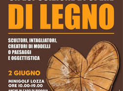 Il legno in mostra a Lozza