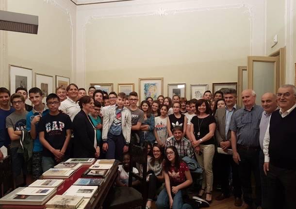 Prima visita guidata alla Pinacoteca di Gazzada Schianno