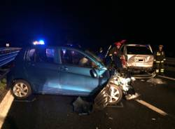Incidente autostrada a8 Solbiate Arno