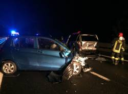 Incidente autostrada a8 Solbiate Arno