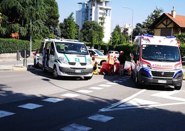 incidente Ronchi Gallarate