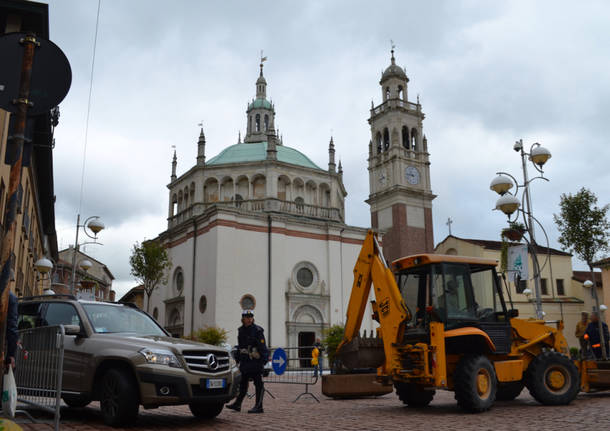 Inizia la pedonalizzazione di Piazza Santa Maria