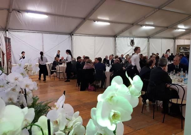 La cena di gala Aci