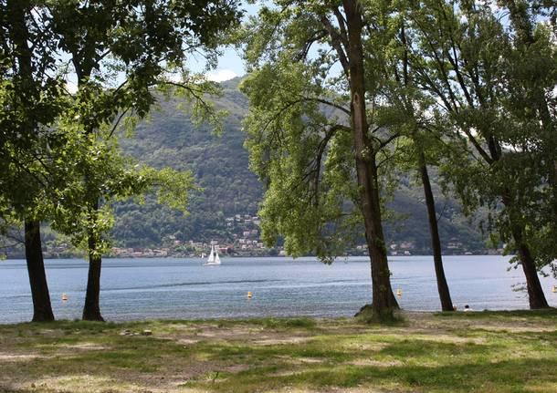 Le spiagge balneabili in provincia di Varese 2017