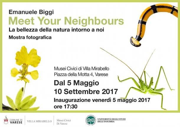 "mostra fotografica ""Meet your neighbours"" di emanuele biggi"