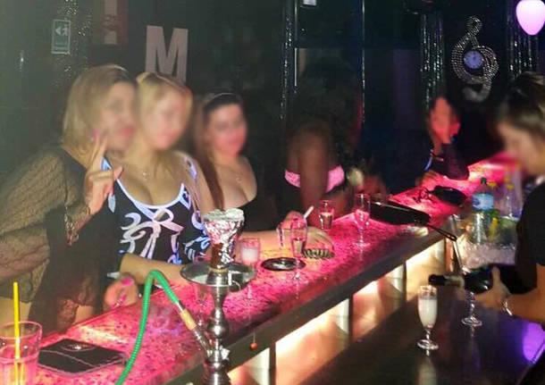 night club mambo vergiate prostituzione