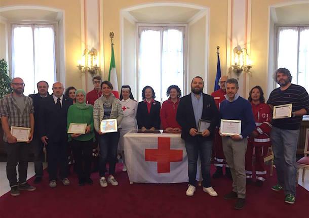 Premiazione Croce rossa