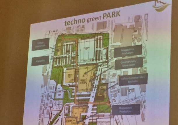 presentazione techno green park olgiate olona mirella cerini gianni montano