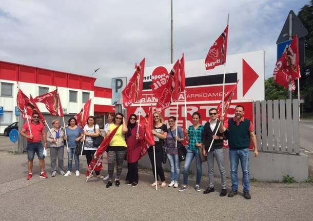 protesta lavoratori pulizie grancasa