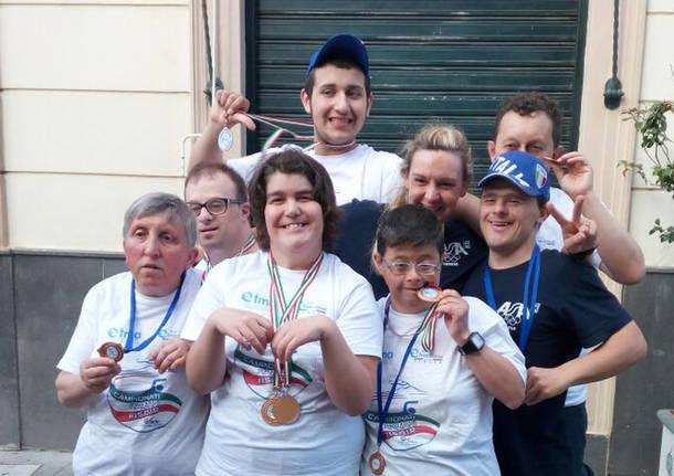 Gli atleti di Asa Varese ai campionati italiani di nuoto