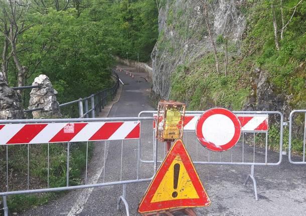 Sacro Monte: chiusa anche via sommaruga